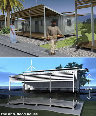 Floating Shipping Container Houses - Pakistan