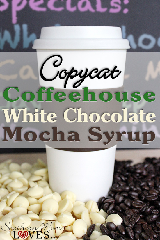 how to make a white chocolate mocha iced coffee