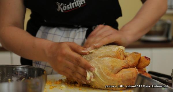 Marokkanisches Grillhuhn mit Salzzitronen