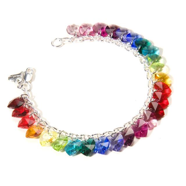 Swarovski Bracelet Heart8