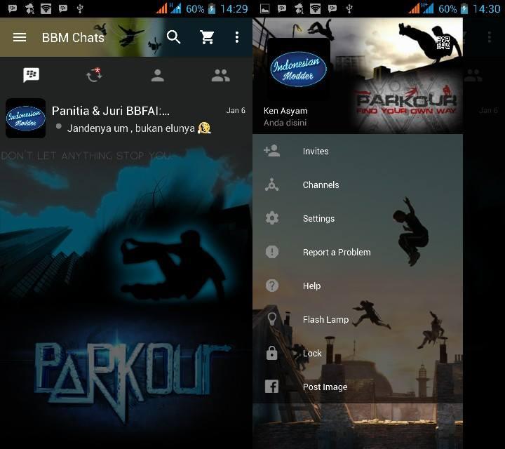 BBM MOD Parkour