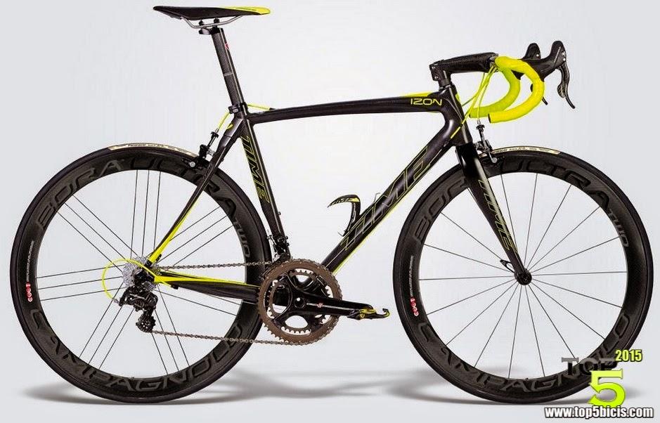 TOP 5 BICICLETAS DE CARRETERA: Espectacular bici la Time IZON