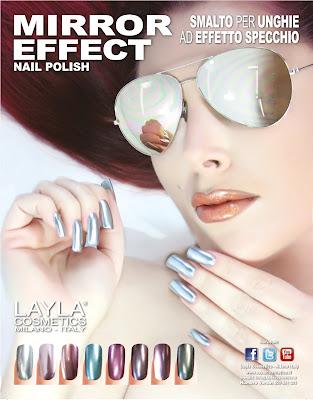 smalto per unghie ad effetto specchio - layla mirror effect nail polish