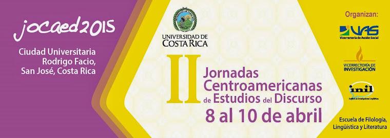 II Jornadas Centroamericanas de Estudios del Discurso 2015