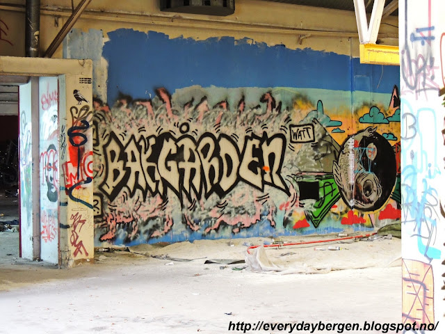 Abandoned factory Bergen