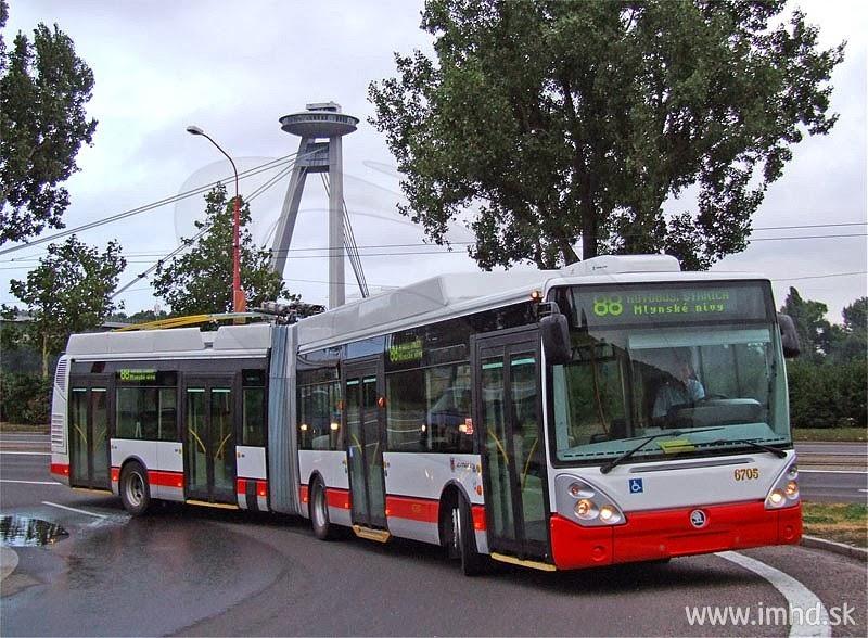 Добраться в Братиславе можно