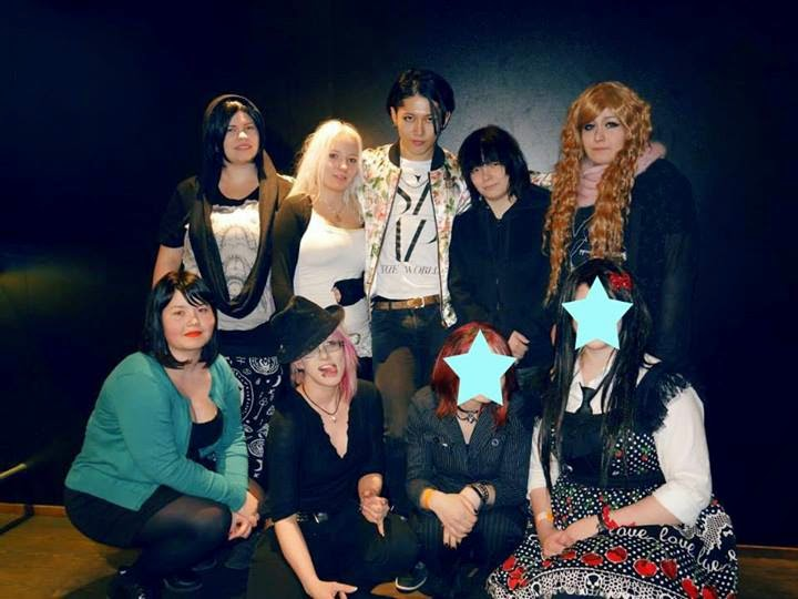 プラス Miyavi The Circus Helsinki 2014 03 16 Vip Sort Of
