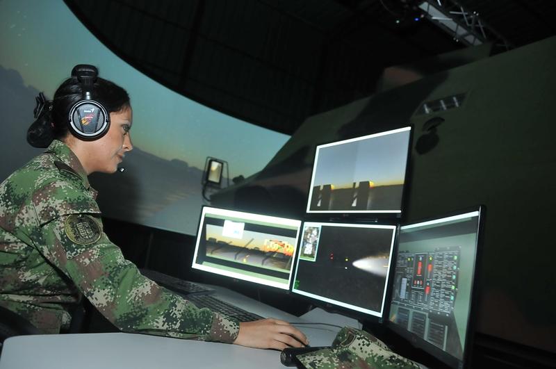 Simulador Markab fabricado por CODALTEC.