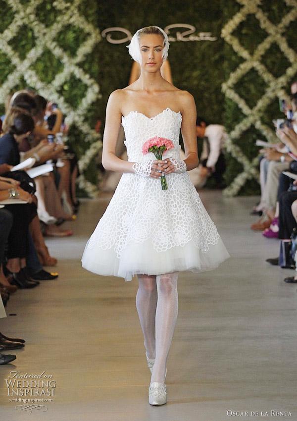2016 wedding dresses and trends oscar de la renta bridal for De la renta wedding dresses