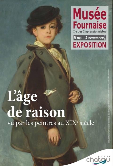 Actu Expos / L'âge de raison vu par les peintres du XIXe s.