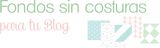 Fondos sin costuras para Blogger