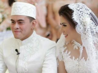 [Foto] Cynthia Ramlan dan Erlangga Tjokro Menikah 16 Mei 2015