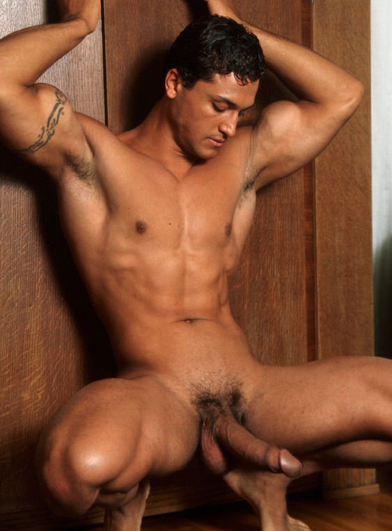Hunky naked man gay