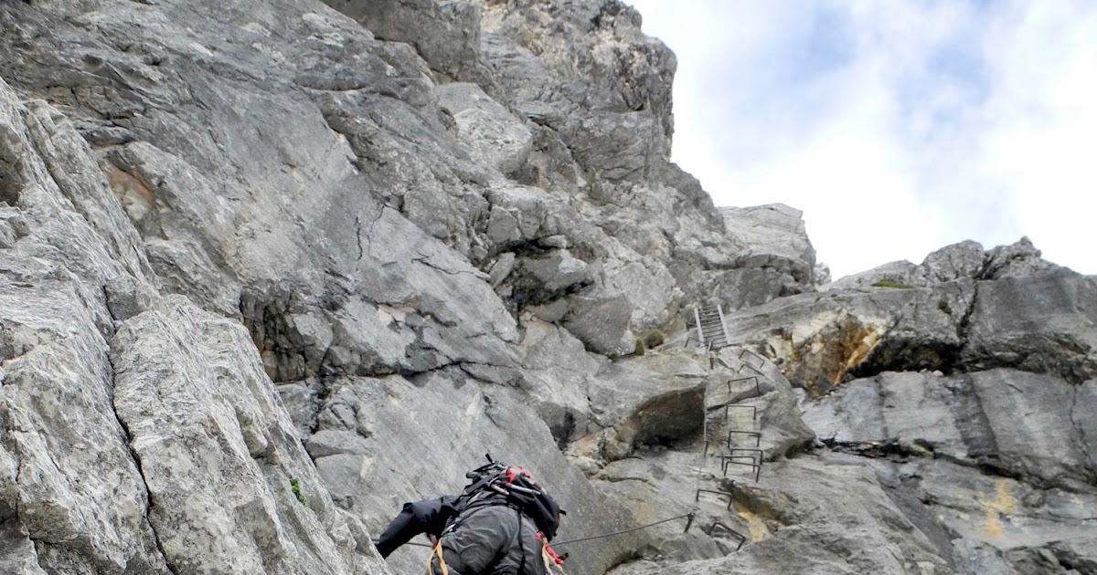 Klettersteig Priel : In der mitte von Österreich ist das stodertal: impressionen vom