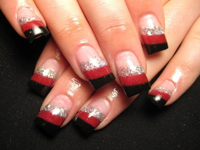 Classy Nail Designs With Glitter 2015 Best Nails Design Ideas