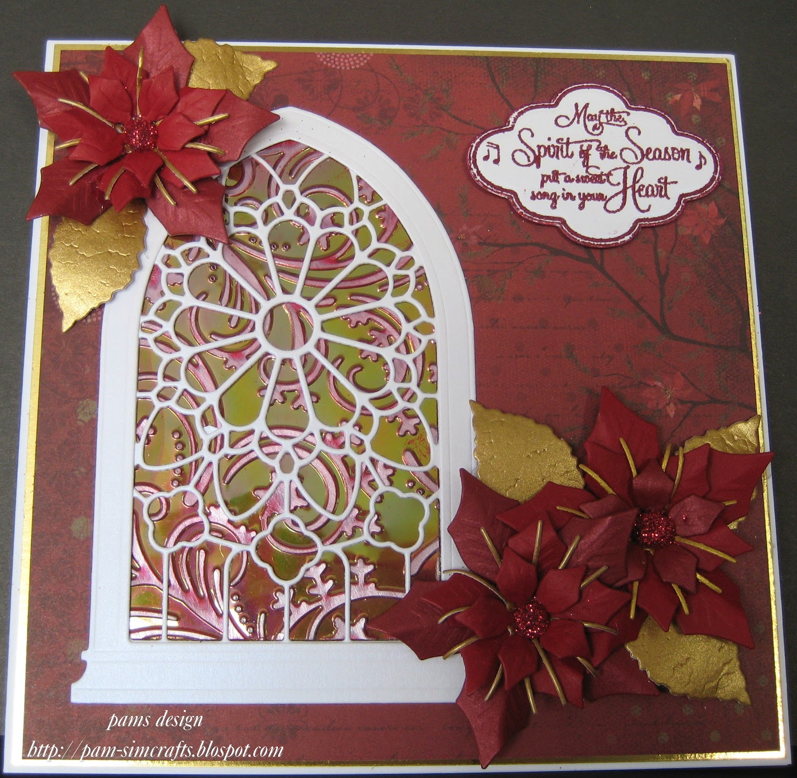 pamscrafts: Gothic Stained Glass Window