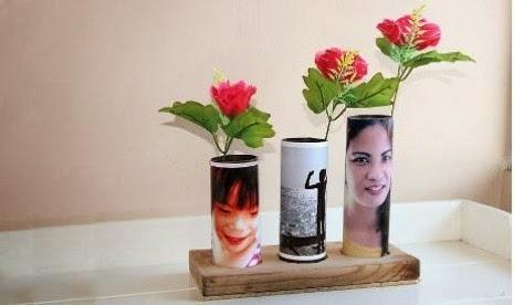 kreasi vas bunga dari pipa pvc