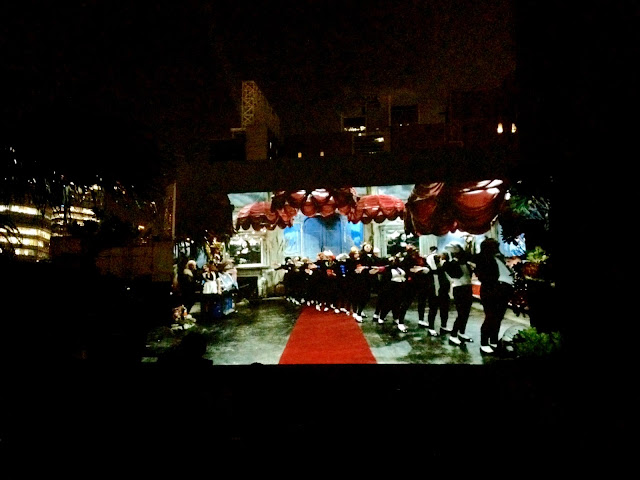 Rocky Horror Picture Show outdoor Halloween screening at The Hive in Wan Chai, Hong Kong