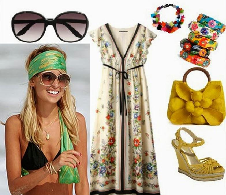 Moda mujer anos 70 - Hippies anos 70 ...