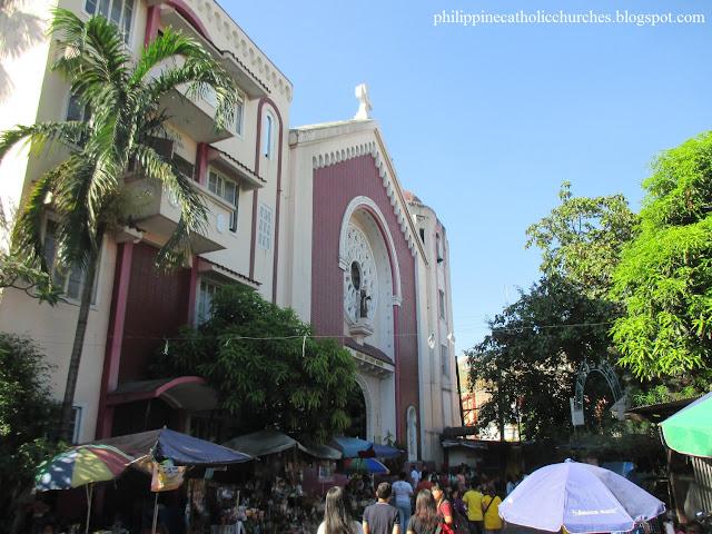 THE SHRINE OF SAINT ANTHONY DE PADUA, Sampaloc, Manila, Philippines