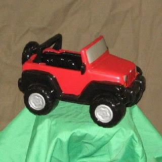 Replica Ceramic Jeep Wrangler