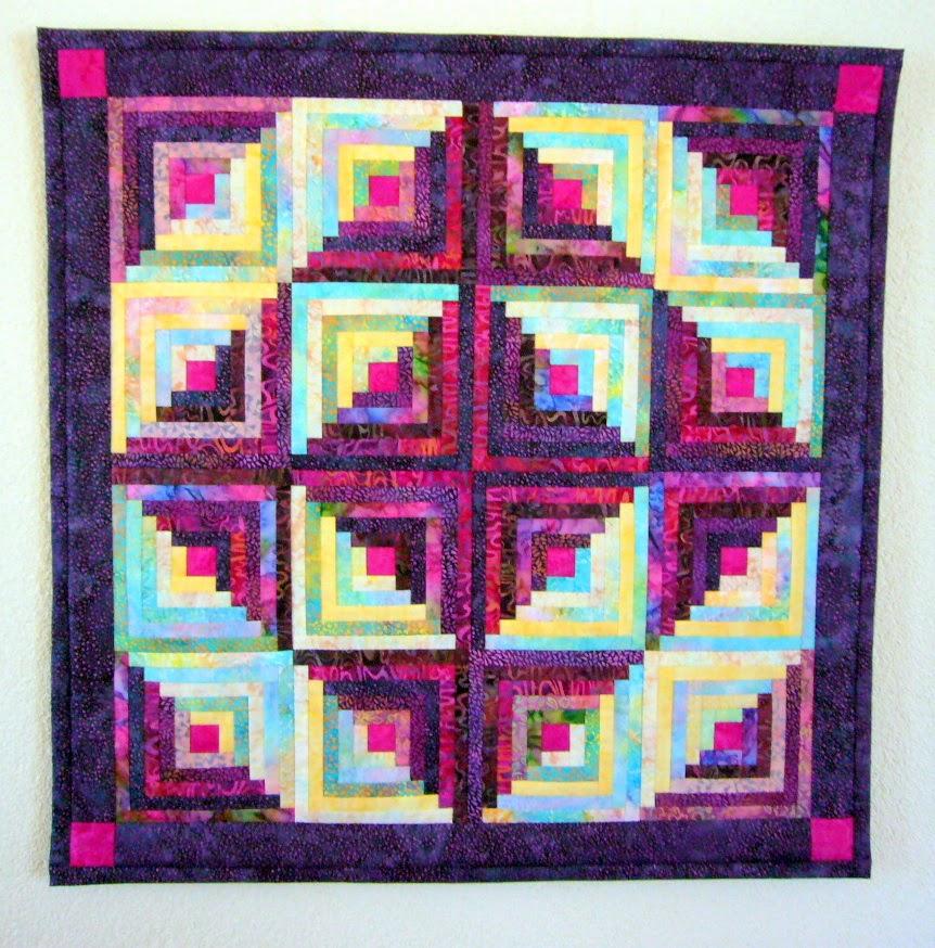 De eerste quilt die ik maakte