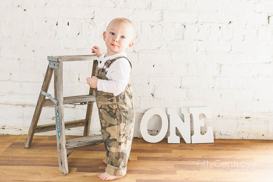 This Sweet Little Boys One Year Old Session At My Natural Light Studio In Downtown Christiansburg Virginia