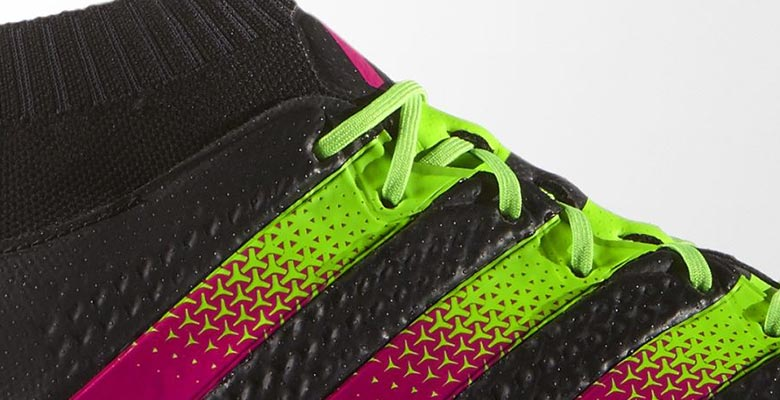Black Pink Green Adidas Ace 16 1 Primeknit Boots