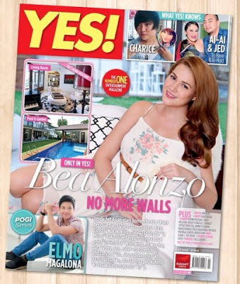 Bea ALonzo covers YES! Magazine July 2013 Issue | Actress reveals reason for break up with Gerald Anderson