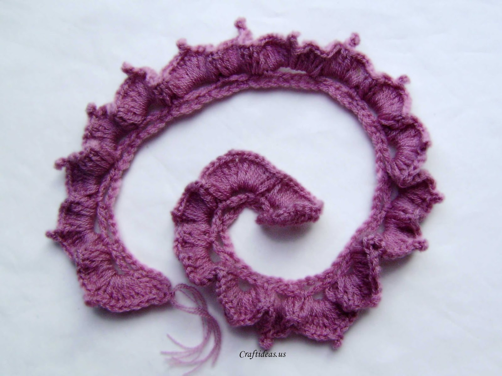ergahandmade: Crochet Rose + Free Pattern Step By Step