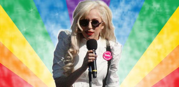 Lady Gaga icono LGTB