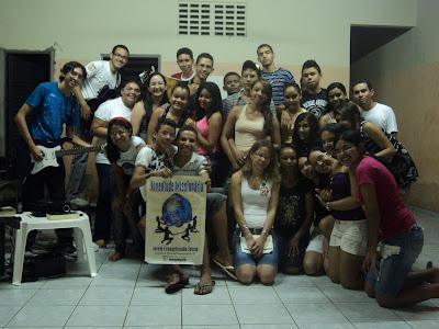 Formação JM na Comunidade Sta. Rita, em Teresina/PI