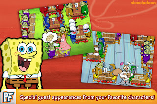 SpongeBob Dinner Dash Free iPhone