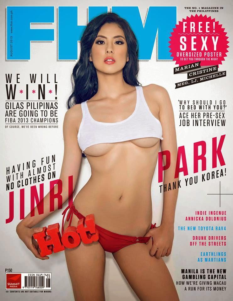 Jinri Park Model FHM Philippines Edisi Agustus 2013