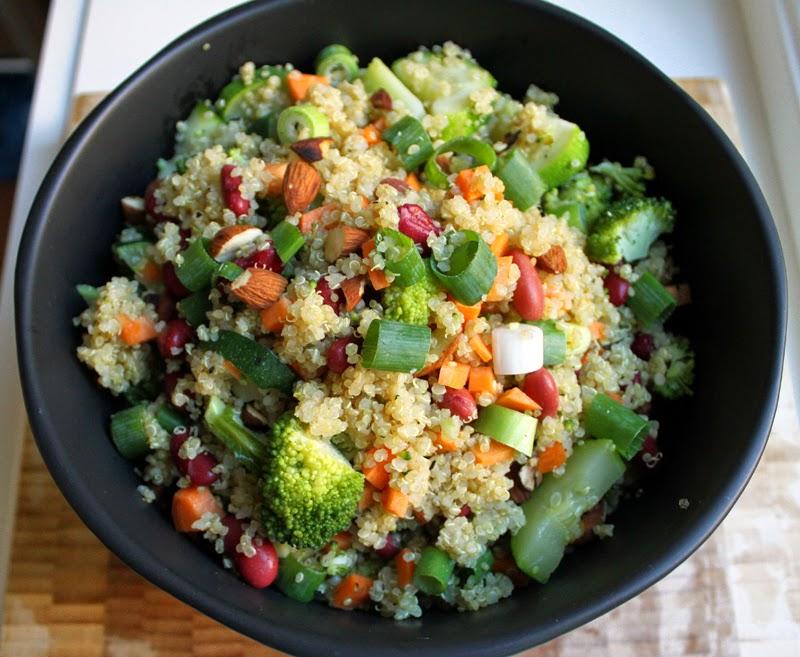 Oppskrift Quinoasalat Mettende Salat Hva er Quinoa Hvordan Koke
