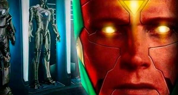 """fanmade design """"The Vision"""" Vengadores Era de Ultron"""