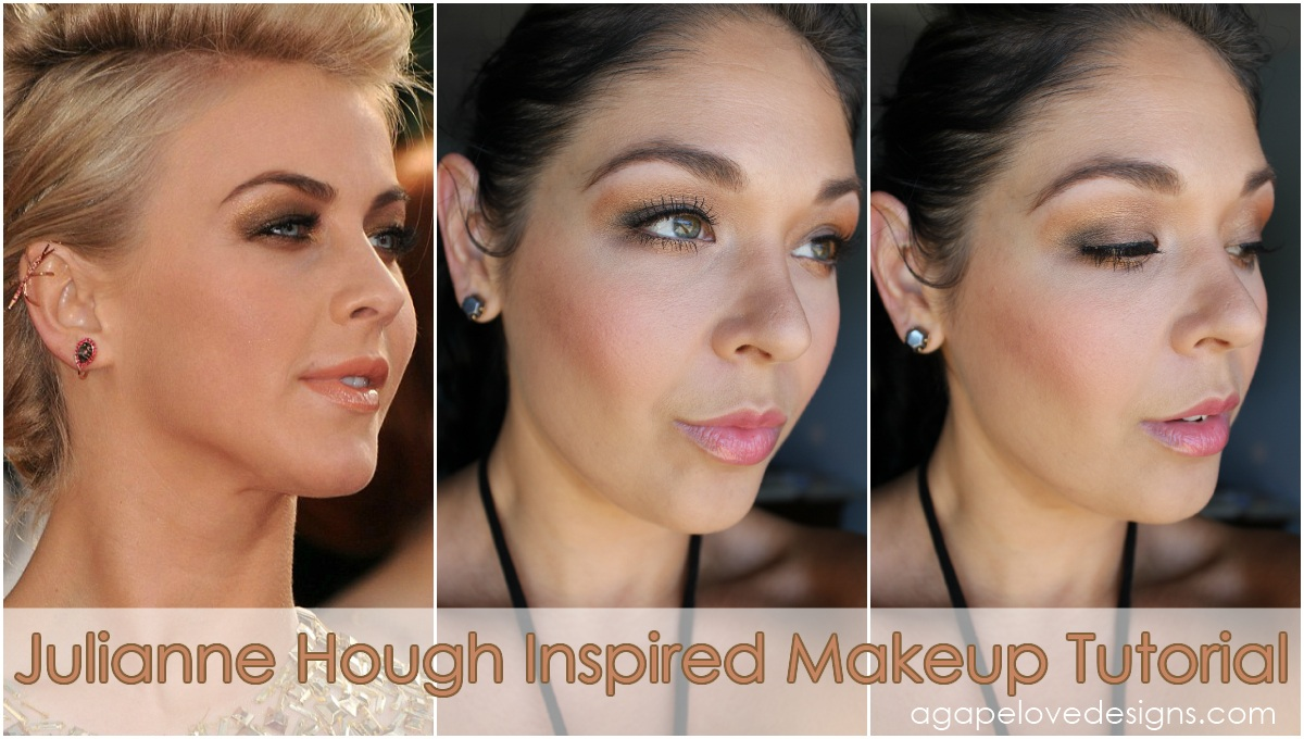 Agape love designs julianne hough inspired makeup tutorial watch lacies video for the hair tutorial baditri Choice Image
