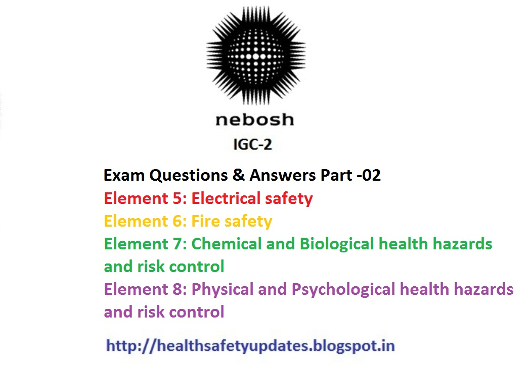 Hsedot nebosh igc 2 exam questions answers part 2 very very hsedot nebosh igc 2 exam questions answers part 2 very very useful and simple fandeluxe Choice Image