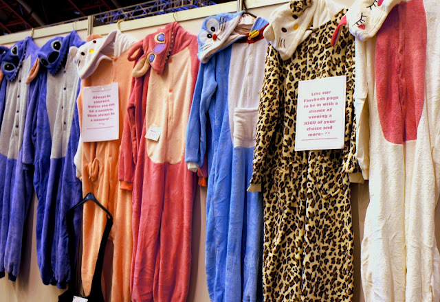 Kawaii onesies at Hyper Japan, London