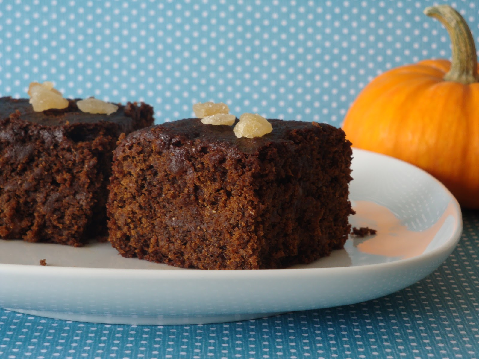 Pumpkin Gingerbread - Alida's Kitchen
