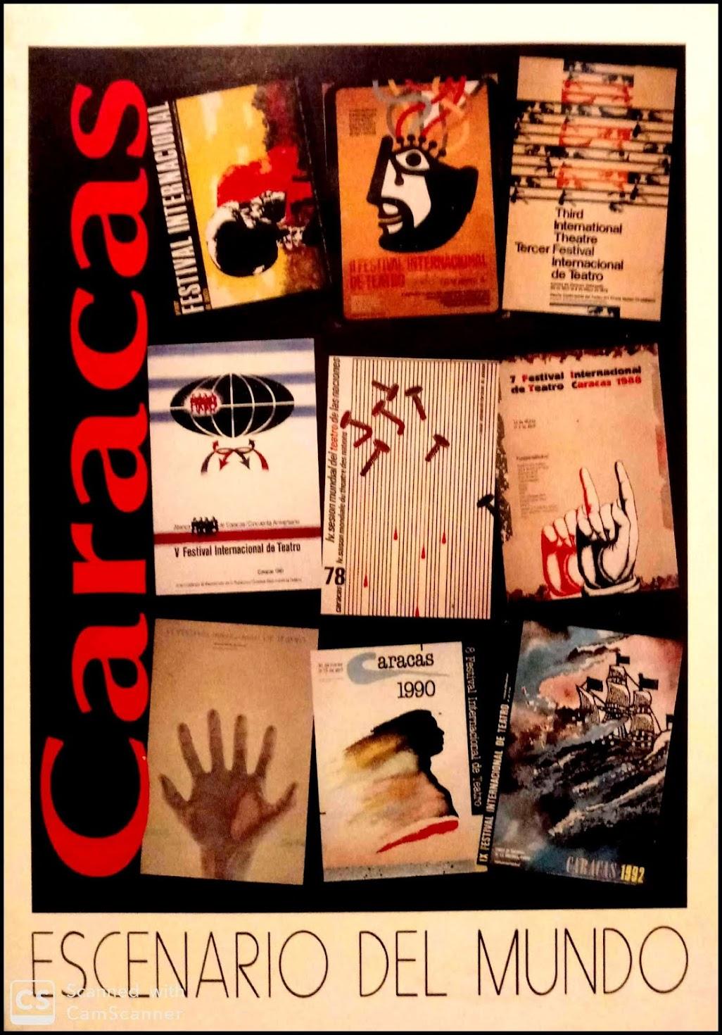 Memoria del Festival Internacional de Teatro de Caracas (FITC) 1973-1992