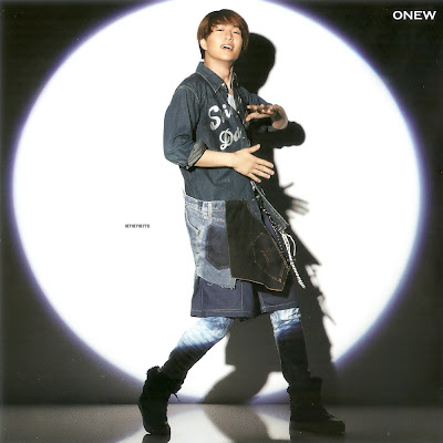 Onew Shinee Dazzling Girl album image scan