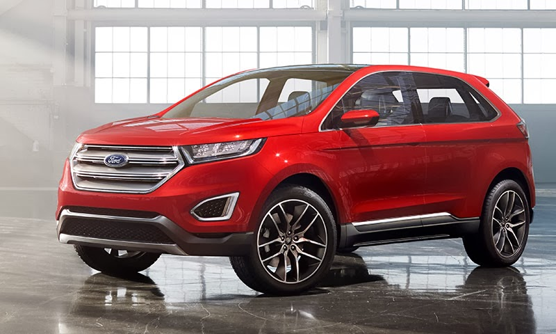 Ford Reveals Tech-Savvy Ford Edge Concept