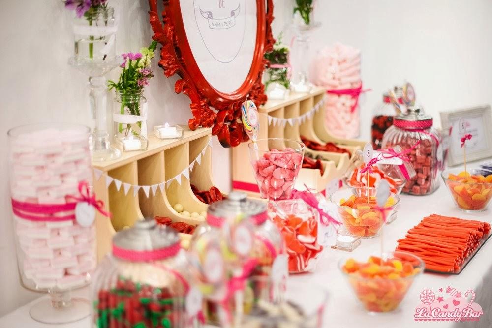Pon una candy bar en tu boda blog de bodas originales - Ideas decoracion bar ...