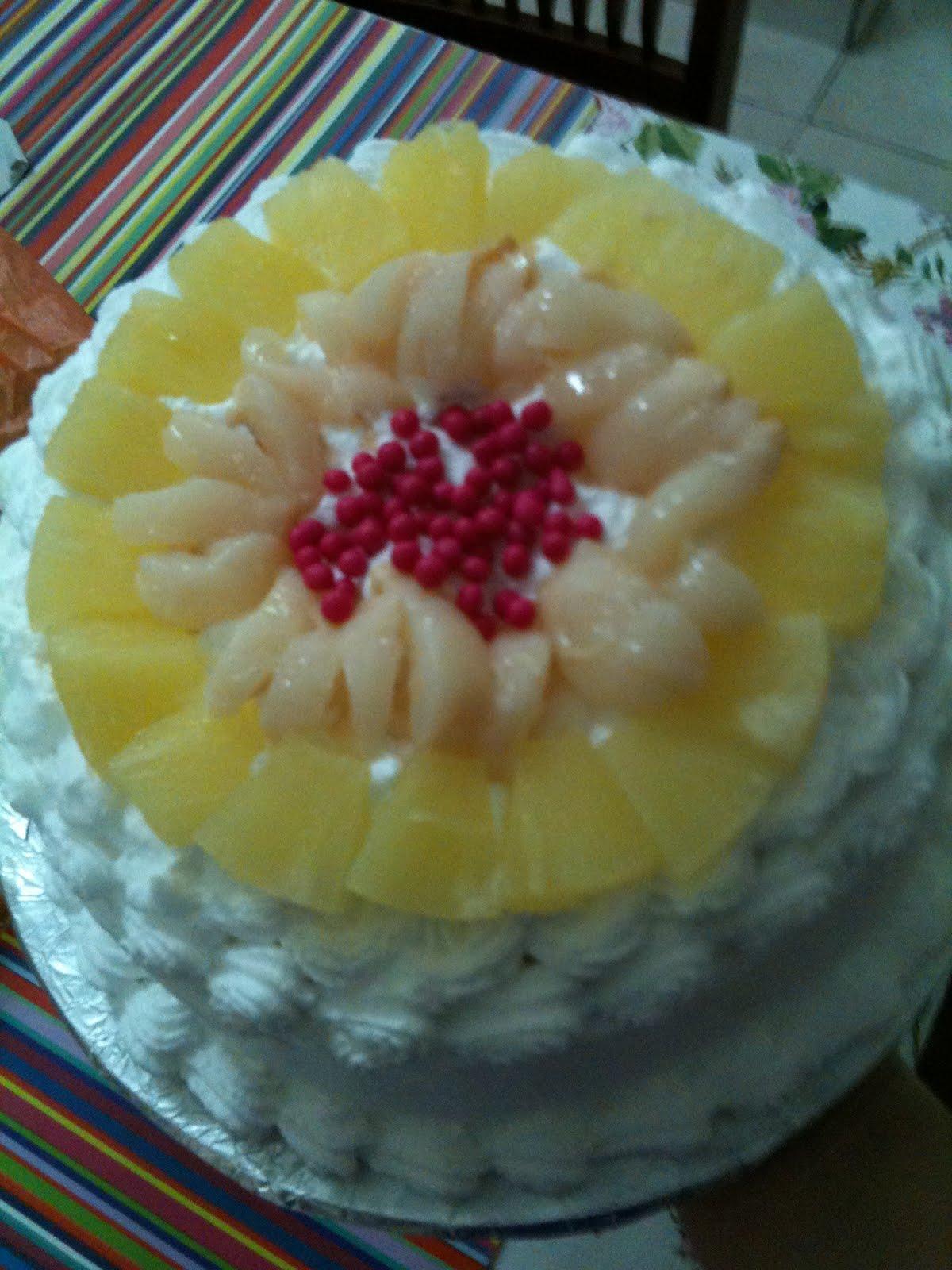 Fruit Flan Cake Decoration : MamaBisya Cake House: Fruit Flan Cake