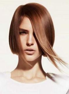 Cortes de cabelo chanel com pontas assimétricas