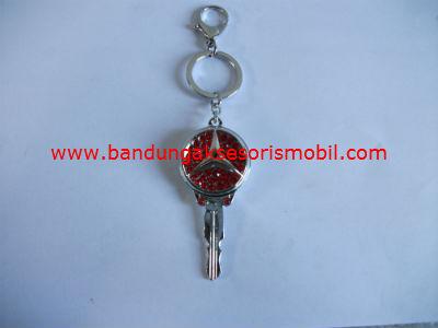 Gantungan Kunci Berlian Model Kunci Mercedes