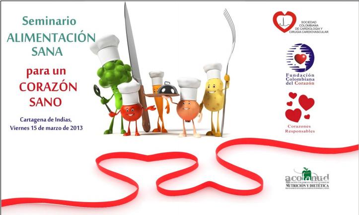 Corporaci n vida saludable estuvimos en el seminario - Alimentos saludables para el corazon ...