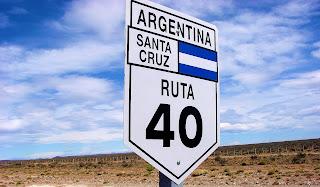 Ruta 40 -Chubut Santa Cruz