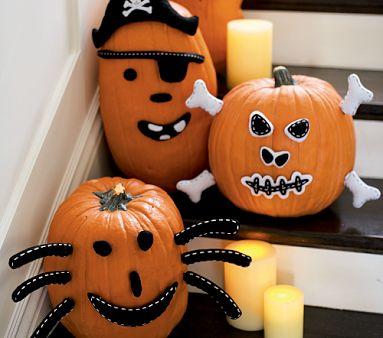 Alimenta tu vida feliz halloween - Decoracion calabazas halloween ...